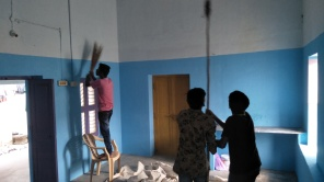 Sabbath Worship Center Making Clean & Painting (3)